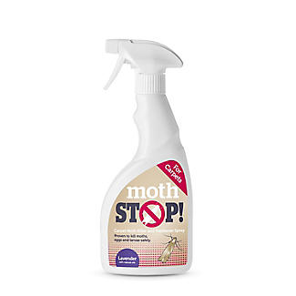 Moth Stop Carpet Moth Killer and Freshener Spray 500ml