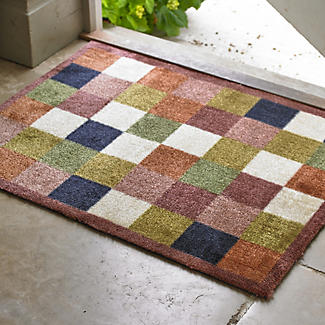 Hug Rug Non Slip Indoor Floor & Door Mat Tiles - 80 x 60cm alt image 2