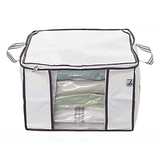 Lakeland Vacuum Clothes & Duvet Storage Tote Bag - 38L Standard