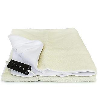 Luxury Fleece Fitted Electric Blanket - Single