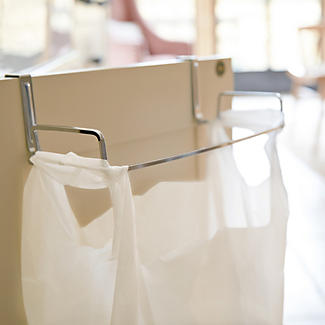 Over Cabinet Door Bag Holder