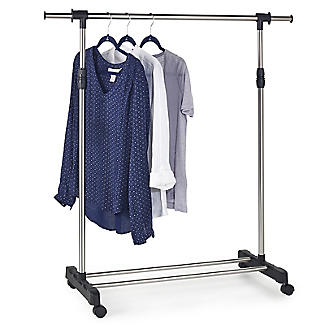 Single Pole Garment Rail alt image 3