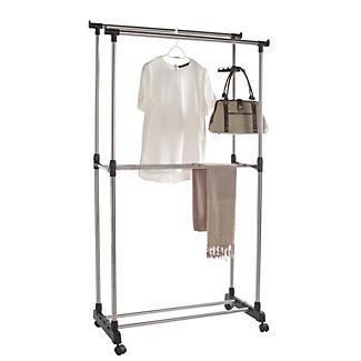 double pole garment rail lakeland. Black Bedroom Furniture Sets. Home Design Ideas