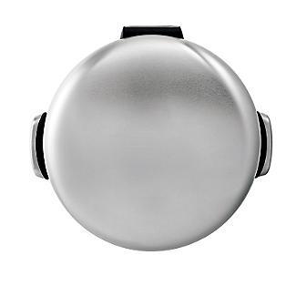 simplehuman Retro Diner-Style Kitchen Waste Pedal Bin - Silver 30L alt image 4