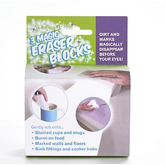 3 Magic Eraser Stain Remover Cleaning Blocks alt image 4