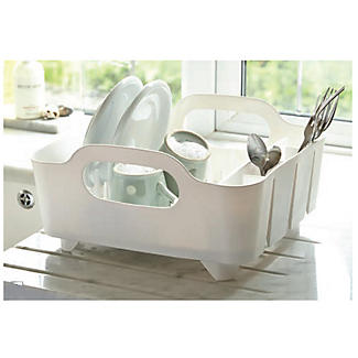Umbra® Tub Dish Drainer Rack - White