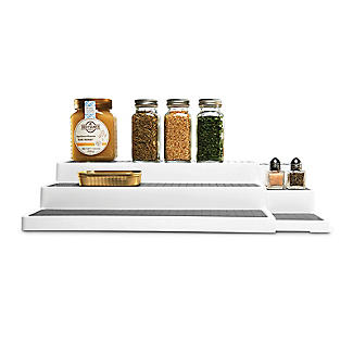 Lakeland Ausziehbares, 3-stufiges Zusatzregal für den Küchenschrank alt image 4
