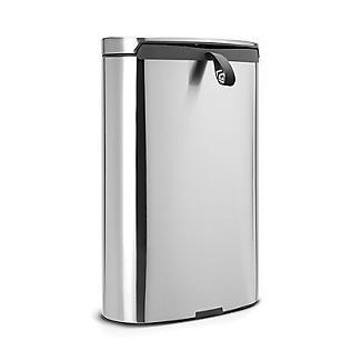 Brabantia® Flatback Kitchen Waste Pedal Bin - Silver 40L alt image 4