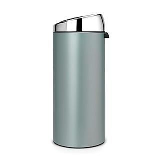 Brabantia® Soft Touch Lid Kitchen Waste Bin - Mint 30L alt image 2