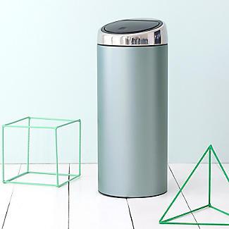 Brabantia® Soft Touch Lid Kitchen Waste Bin - Mint 30L alt image 4