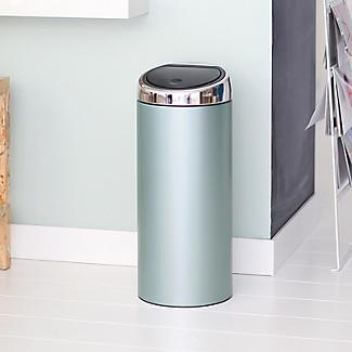 Brabantia® Soft Touch Lid Kitchen Waste Bin - Mint 30L alt image 5