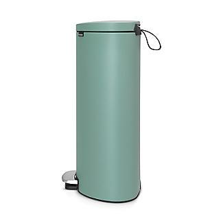 Brabantia® Flatback Kitchen Waste Pedal Bin - Mint 30L alt image 2
