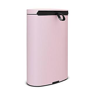 Brabantia® Flatback Kitchen Waste Pedal Bin - Pink 40L alt image 3