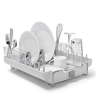 Oxo Good Grips Foldaway Dish Drainer Rack Light Grey