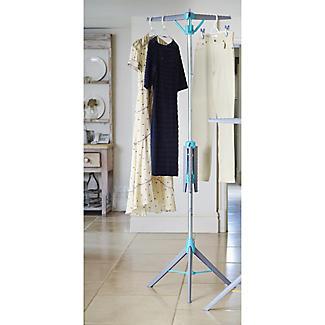 2-Tier HangAway Clothes Hanger Stand alt image 2