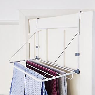 Exceptionnel Overdoor Slimline Drying Rack