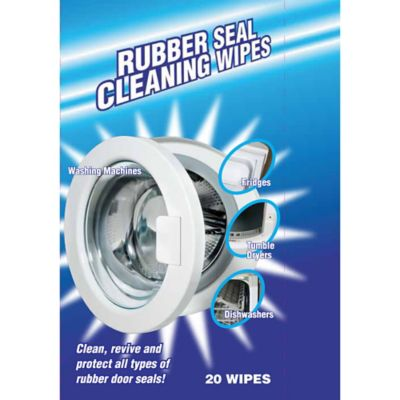 Washing Machine Rubber Seal Cleaning Wipes X20 Lakeland