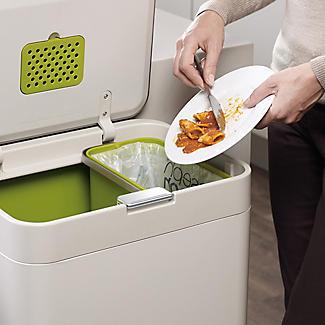 Joseph Joseph Totem Intelligent Waste Recycle Unit - Stone 60L alt image 6