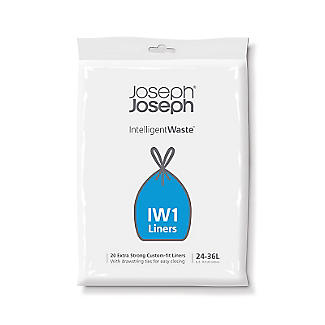 20 Joseph Joseph Intelligent Waste IW1 Bin Liners 24-36L