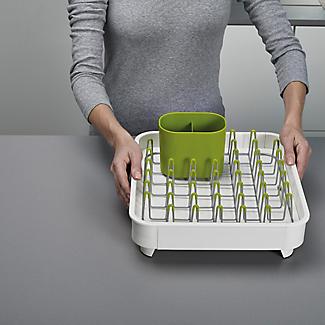Joseph Joseph Extend Expandable Dish Drainer - White and Green alt image 2