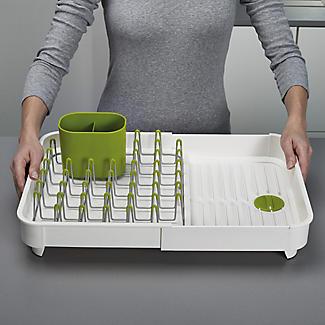 Joseph Joseph Extend Expandable Dish Drainer - White and Green alt image 3