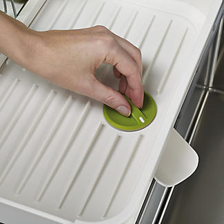 Joseph Joseph Extend Expandable Dish Drainer - White and Green alt image 5
