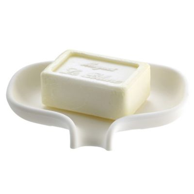 Soap Saver Dish With Draining Spout Lakeland