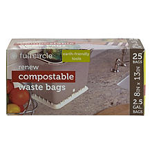 25 Full Circle Fresh Air Compostable Waste Bags
