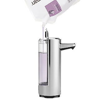 simplehuman Rechargeable Sensor Pump Soap Dispenser alt image 3