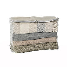 Clearview Protective Clothes & Duvet Zip Storage Bag - 52L