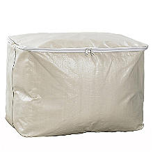 Dust Proof Protective Clothes & Duvet Zip Storage Bag - 52L