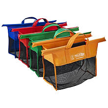 4 Reusable Supermarket Shopping Trolley Bags - Shallow