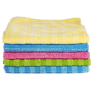 5 Everyday Microfibre Cleaning Cloths alt image 1