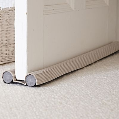 & Double-sided Under-door Draught Excluder | Lakeland