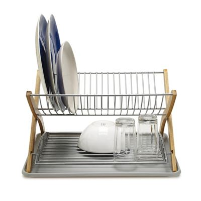 sc 1 st  Lakeland & Umbra Stack Large 2 Tier Dish Drainer Rack | Lakeland