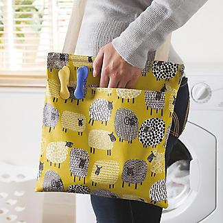 Dotty Sheep Oilcloth Peg Bag alt image 2