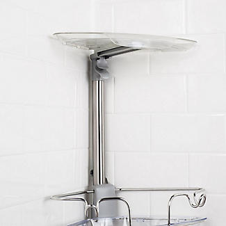 OXO Good Grips Slide and Lock Standing Shower Caddy alt image 8