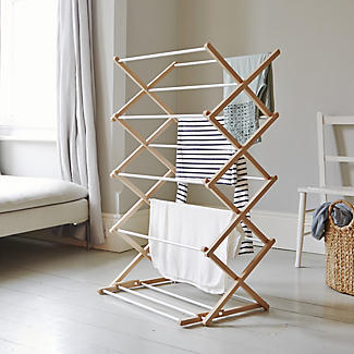 Classic Traditional Concertina Indoor Clothes Airer 6m alt image 2