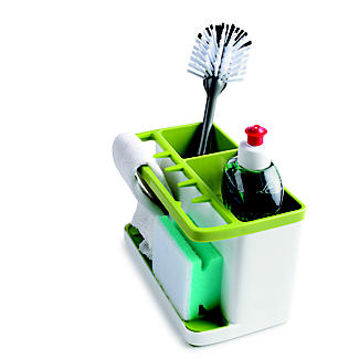 ILO Large Sink Tidy White and Green alt image 2