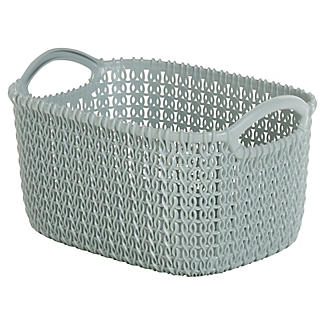 Extra Small Knit-Effect Tub Blue