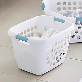 Small Soft Grip Laundry Basket alt image 2