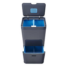 Joseph Joseph Totem Intelligent Waste Recycle Unit - Graphite 58L