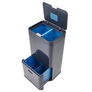 Joseph Joseph Totem Intelligent Waste Recycle Unit - Graphite 58L alt image 2