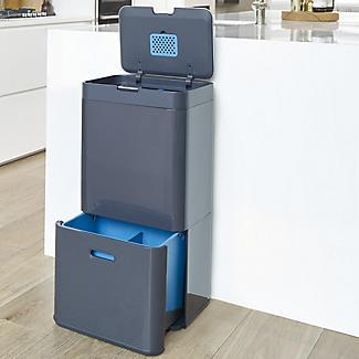 Joseph Joseph Totem Intelligent Waste Recycle Unit - Graphite 58L alt image 4