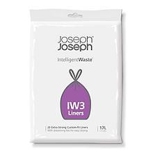 20 Joseph Joseph Intelligent Waste IW3 Bin Liners 17L