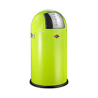 Wesco Pushboy Bin - Lime 50L