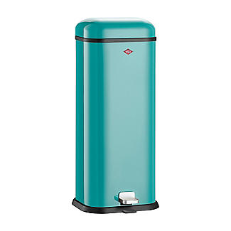 Wesco Superboy Pedal Bin - Turquoise 20L