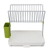 Joseph Joseph Y Rack Dish Drainer White and Green