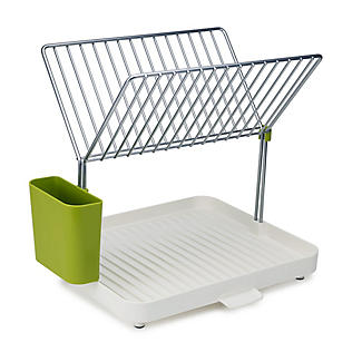 Joseph Joseph Y Rack Dish Drainer White and Green alt image 2