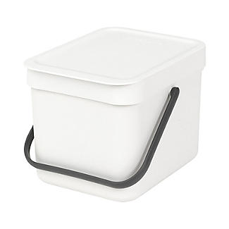Brabantia® 6L. Sort and Go White